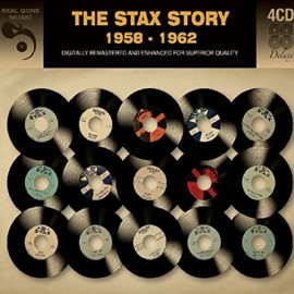 VARIOUS : CDx4 Stax Story 1958 To 1962