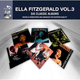 FITZGERALD Ella : CDx4  Six Classic Albums Vol.3