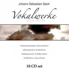 BACH Johann Sebastian : CDx10 Vocal Works