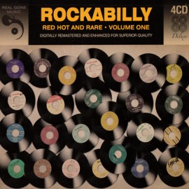 VARIOUS : CDx4 Rockabilly - Red Hot And Rare - Volume One