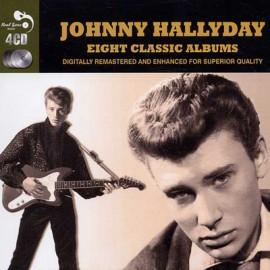 HALLYDAY Johnny : CDx4 8 Classic Albums