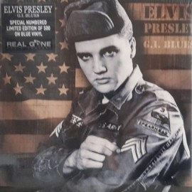 PRESLEY Elvis : LP G.I. Blues