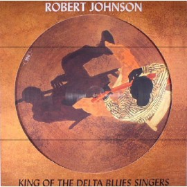 JOHNSON Robert : LP Picture King Of The Delta Blues Singers