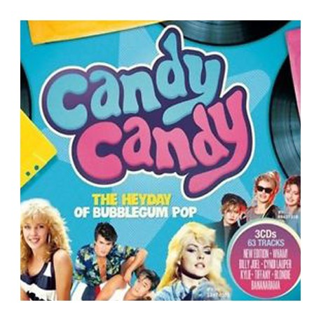VARIOUS : CDx3 Candy Candy