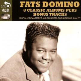 FATS DOMINO : CDx4 8 Classic Albums Plus Bonus Tracks