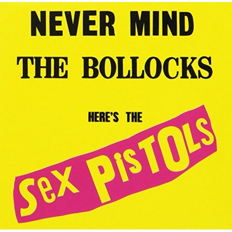SEX PISTOLS - MAGNET : Never Mind The Bollocks Album Cover