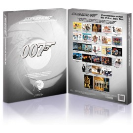 POSTERS/PRINTS JAMES BOND 50 YEARS LIMITED EDITION BOX SET EXCLUSIVE