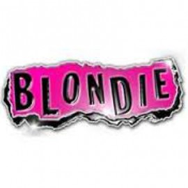 BLONDIE - PIN : Punk Logo