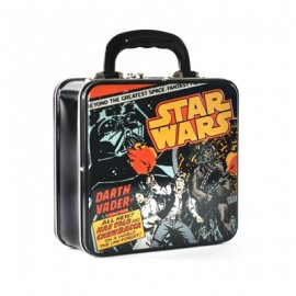 STAR WARS BOX LUNCH : Comic Cover Embossed Tin Tote