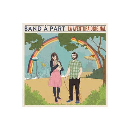 """BAND A PART : 10""""LP La Aventura Original"""