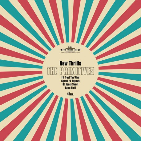 """PRIMITIVES (the) : 10""""EP New Thrills"""