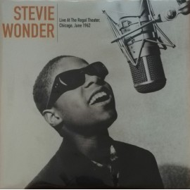 WONDER Stevie : LP Live At The Regal Theater Chicago. June 1962