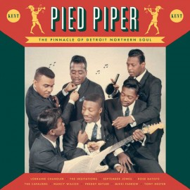 VARIOUS : LP Pied Piper (The Pinnacle Of Detroit Northern Soul)
