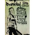 BANSKY - WALL CALENDAR 2018