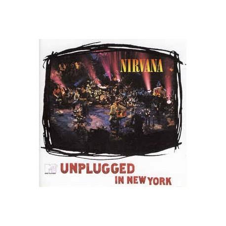 NIRVANA : CD Unpluggged In New York