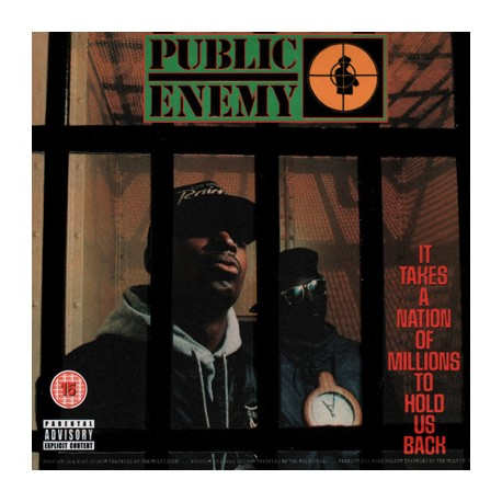 PUBLIC ENEMY : CDx2+DVD It Takes A Nation Of Millions To Hold Us Back