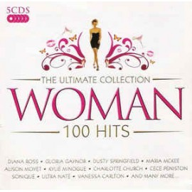 VARIOUS : CDx5 The Ultimate Collection Woman - 100 Hits