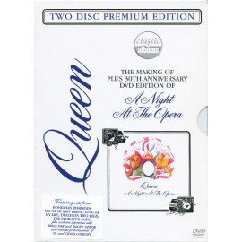 QUEEN : DVDx2 The Making Of Plus 30th Anniversary DVD Edition Of 'A Night At The Opera'