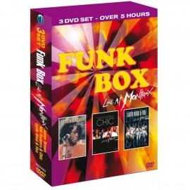 VARIOUS : DVDx3 Funk Box