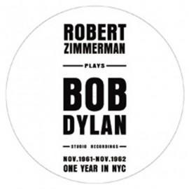 DYLAN Bob : LP Picture Robert Zimmerman Plays Bob Dylan