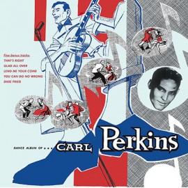 PERKINS Carl : LP Dance Album Of Carl Perkins