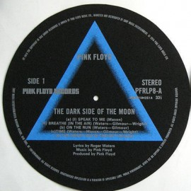 TURNTABLE FELT - FEUTRINE - The Dark Side Of The Moon x2