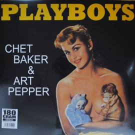 BAKER Chet / PEPPER Art : LP Playboys
