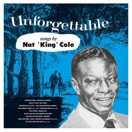 NAT KING COLE : LP Unforgettable
