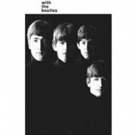 BEATLES (the) - MAGNET  : With The Beatles (90mm x 65mm)