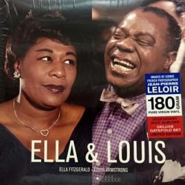 FITZGERALD Ella & ARMSTRONG Louis : LP Ella & Louis