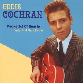 EDDIE COCHRAN : LP Pocketful Of Hearts : Early And Rare Eddie