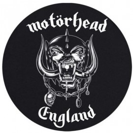TURNTABLE FELT - FEUTRINE - Motorhead England Everything Louder x2