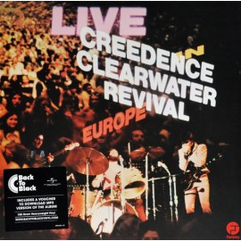 CREEDENCE CLEARWATER REVIVAL : LPx2 Live In Europe