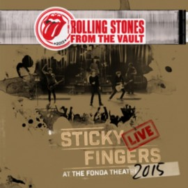 ROLLING STONES (the) : LPx3+DVD From The Vault : Sticky Fingers Live At Fonda Theatre 2015