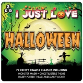 VARIOUS : CDx3 I Just Love Halloween