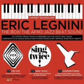 LEGNINI Eric : CDx3 The Box! The Afro Jazz Beat Sound