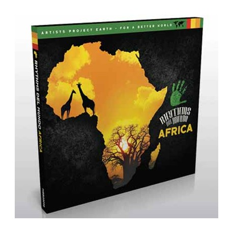 VARIOUS : CD Rhythms Del Mundo-Africa
