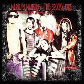 MARILYN MANSON : LP Live As Hell 1992