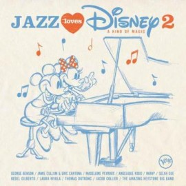 VARIOUS : LPx2 Jazz Loves Disney 2