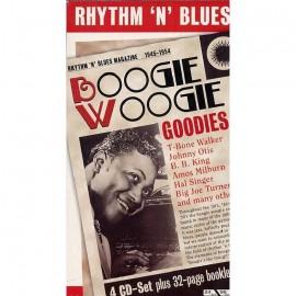 VARIOUS : CDx4 Rhythm 'N' Blues - Boogie Woogie Goodies