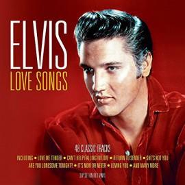 PRESLEY Elvis : LPx3 Love Songs - 48 Classic Tracks