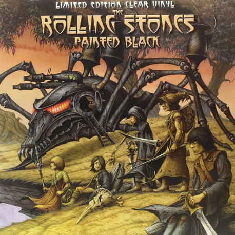 ROLLING STONES (the) : LP Painted Black