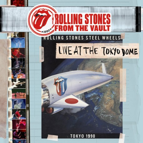 ROLLING STONES (the) : LPx4+DVD Live At The Tokyo Dome