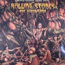 ROLLING STONES (the) : LP Aftermath - Clear Vinyl