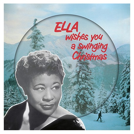 FITZGERALD Ella : LP Picture Ella Wishes You A Swinging Christmas