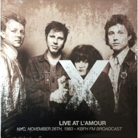 X : LPx2 Live At L'Amour - NYC, November 26th, 1983 - KBFH FM Broadcast