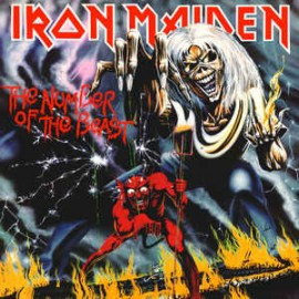 IRON MAIDEN : LP The Number Of The Beast