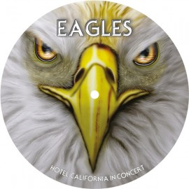 EAGLES : LP Picture Hotel California In Concert