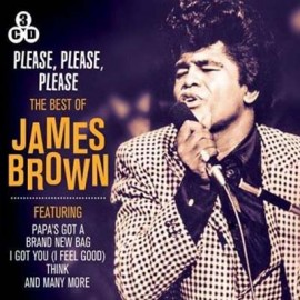 JAMES BROWN : CDx3 Please Please Please - The Best Of