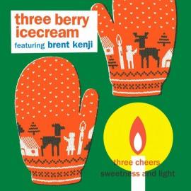 THREE BERRY ICECREAM : Three Cheers
